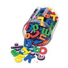 wonderfoam magnetic alphabet letters assorted