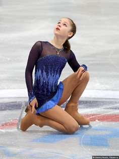 Yulia Lipnitskaya. So inspiring! I love ice-skating! She won a gold medal in the Olympics at age 15! unbelievable!