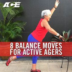 8 Balance Moves for Active Agers