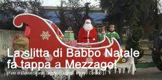 La slitta di Babbo Natale fa tappa a Mezzago!