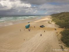 Cairns, Rafting, Brisbane, Safari, Fraser Island, Der Bus, Strand, Beach, Water