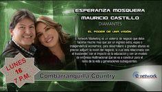 Diamantes Esperanza Mosquera y Mauricio Castillo 16 de Junio