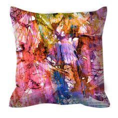 BIRDS OF PREY Caribbean Twist Suede Throw Pillow Cover Decorative Cushion by EbiEmporium, #colorful #homedecor #pastel #birds #birdpillow #abstractart #watercolor #caribbean #tropical #summerdecor #summer #throwpillow #pillowcover #decor #pink #splash #colorful #rainbow #multicolor #suedepillow #suede #ebiemporium #designer #bedroomdecor #bedding