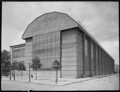AEG-Turbinenhalle, Berlin, 1909, architect: Peter Behrens, Bauhaus‐Archiv Berlin