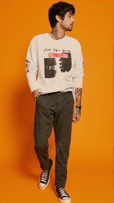 zayn for penshoppe Zayn Mallik, Zayn Malik Photos, Estilo Bad Boy, Zayn Malik Hairstyle, Zayn Malik Style, One Direction Videos, Matthew Gray Gubler, Casual Fall, Bad Boys