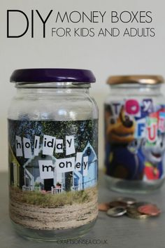 A Super Simple But Cute DIY Money Box That Kids Or Adults Can Make Plus