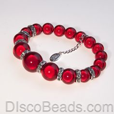 valentine beads | Home > Bracelets > Disco Valentines Bracelets > Single Colour