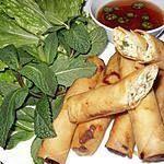 recette Nems au poulet Chinese Food, Buffet, Appetizers, Coconut, Potatoes, Vegetables, Cooking, Desserts, Ramadan