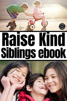 Raising Kind Siblings Ebook Sale - Coffee and Carpool: Intentionally Raising Kind Kids Kindness Activities, Activities For Kids, Gentle Parenting, Parenting Advice, Kindness Challenge, Special Needs Mom, Sibling Rivalry, Boredom Busters