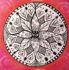Easy+Zentangle | Fall 2012 Conference Classes with Susan Stortini | Creativ Festival ...
