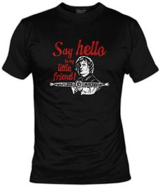 Di hola a mi pequeño amigo! Tyrion Lannister emulando a Tony Montana en Scarface!