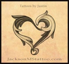 heart tattoo design by ~northgeorgiatattoos on deviantART