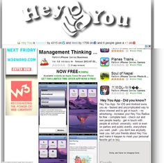 check out mobile website Hey You covering Management Thinking Mistakes iPhone app at http://www.heyyou-app.com/feed/heyyou_user.php?aid=666288108