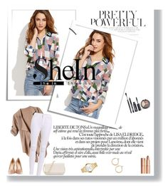 """""""Shein"""" by meri-husic ❤ liked on Polyvore featuring Charlotte Tilbury, Avenue, Movado and Nordstrom"""