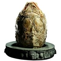 From the 2004 release Alien VS Predator comes the Alien Egg Prop Replica, a full-scale reproduction of the Queen Alien's spawn. Measuring over two feet high, each piece is individually painted and finished, each with its own unique quality and detail that is the trademark of a handcrafted Sideshow Collectibles product. The 1:1 scale Alien Egg Prop Replica is an incredible and detailed addition to any Alien legacy display.