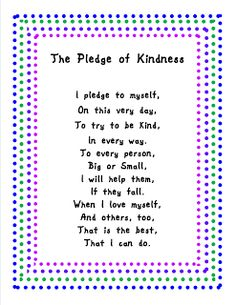 WEEK 11 Best Practices 4 Teaching--Sharing Educational Successes: Daggum Duct Tape and Kindness Teaching Kindness, Kindness Activities, Kindness Poem, Kindness Matters, Songs About Kindness, Anti Bullying Activities, Teaching Empathy, Teaching Poetry, Church Activities