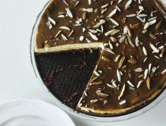 mazurek z kremem ajerkoniakowym (dla starszych biesiadników) - mrspolkadot Tiramisu, Blond, Pie, Pudding, Ethnic Recipes, Desserts, Kuchen, Torte, Tailgate Desserts