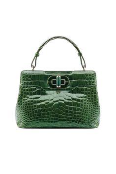 Celine Crocodile Emerald Green Box Bag - Fall 2013 | Bag lady ...
