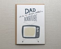 Boobtube | 19 Funniest Father's Day Cards