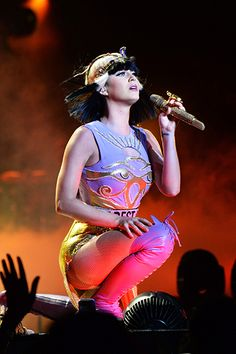 "July 9: Katy Perry performs onstage during ""The Prismatic World Tour"" at Madison Square Garden in New York City."