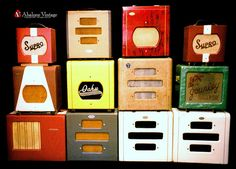 Vintage English and US made guitar amplifiers Tube Supro Oahu Valco Selmer amps by eric_ernest, via Flickr