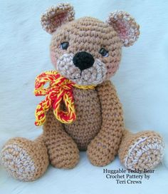 Image detail for -Crocheting: Big Teddy Bear for Hugs Crochet Pattern