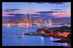 Auckland City lights