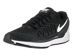 newest fb379 8e08a Nike Mens Air Zoom Odyssey 2 BlackSummit White Anthracite Running Shoe 9  Men US  gt