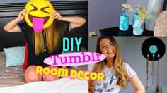 DIY Tumblr Room Decor For Summer! Make Your Room Look Tumblr! 2015