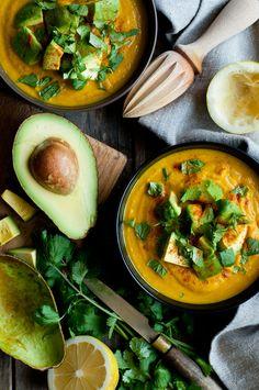 Crema de verduras para la fatiga adrenal