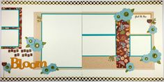 'Making Connections CTMH' Pathfinding Scrapbook Layout Kit