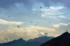 Kites in the sky in Kabul, via Flickr by O.Blaise The Kite Runner, Kite Flying, Afghanistan, Past, Sky, Explore, Photo And Video, World, Drawings