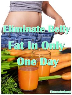 Eliminate Belly Fat In Only One Day