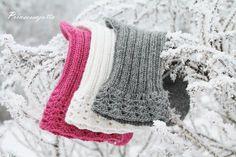 Prinsessajuttu: Villasukat x 5, piristystä perussukkiin Crochet Socks, Knitting Socks, Knitted Hats, Knit Crochet, Drops Design, Mittens, Needlework, Diy And Crafts, Winter Hats
