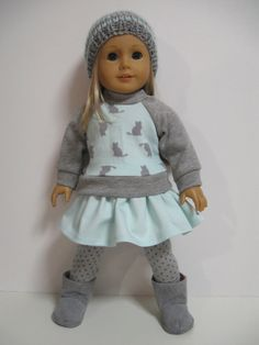 Perfect outfit for your favourite American Girl Doll    What you get...    Sweater ... an adorable wear-anywhere sweater. It slips easily over