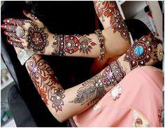 Mehendi design karvachauth India