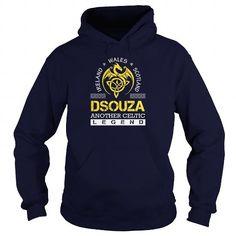 I Love DSOUZA Legend Lastname, Surname Tshirts T shirts