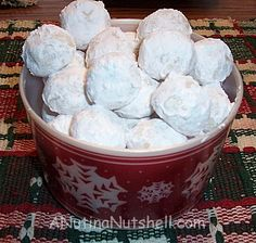 There's nothing like the smell and taste of freshly baked cookies, and these snowball cookies are a must make for the holidays…. and for pretty much any other occasion.  Ingredients 1 cup butter 1/2 cup sifted powdered sugar 1 tsp McCormick pure vanilla extract 2 1/4 cups flour 1/4 tsp salt 3/4 cup finely …