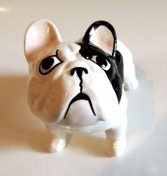 French Bulldog Very sad doggy ;-( (New in Box)  Size.  Inches H 4,53 x L 5,51 Cm H 11,5 x L 14