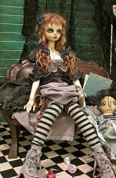 art doll by Valerie Zeitler