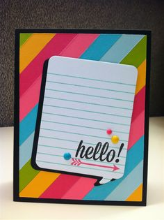 Almost a Project Life style card this. Love it! by Katie Gehring