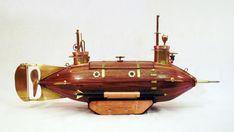 Паровая подводная лодка СТИМПАНК.