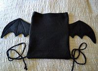 Drawstring Batpack · How To Make A Backpack · Sewing on Cut Out + Keep Baby Diy Projects, Sewing Projects, Diy Goth Clothes, Diy Backpack, Travel Backpack, Drawstring Backpack, Cute Backpacks, Leather Backpacks, Leather Bags