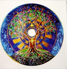 3 pegatinas de Mandala árbol de la vida por SoulArteEclectica