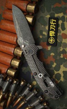 Zero Tolerance 0560BW Blackwash Hinderer EDC Flipper Pocket Knife Blade