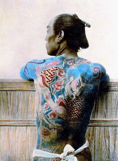 История красивых и сложных японских татуировок: от привилегии императоров до…