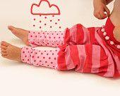 baby pants, rainy day, pink, red, leggings, pantaloons, kickerbocker, shorts