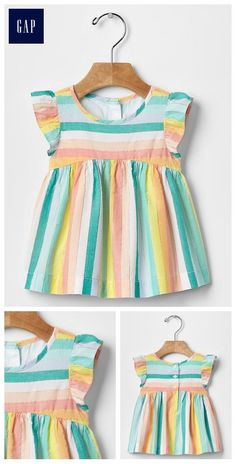 Baby Girl Frocks, Kids Frocks, Frocks For Girls, Little Girl Dresses, Baby Girl Fashion, Kids Fashion, Toddler Outfits, Kids Outfits, Moda Kids
