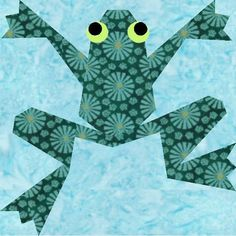 Paper Pieced Quilt Block Pattern