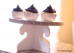 gluten free cupcakes on the cupcake tower